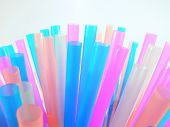 Many Coloured Straws