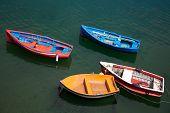 Boats In Santurtzi, Bizkaia, Basque Country, Spain