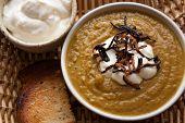 Gourmet Pumpkin curry soup
