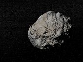 Meteorite In The Universe