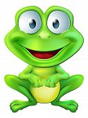 Cute Frog Character