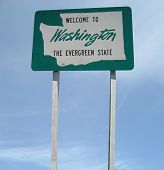 Welcome Washington Sign