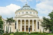 Romanian Athenaeum (Concert Hall) in Bucharest, Romania