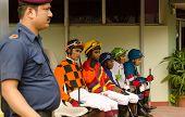 Jockeys at Hyderabad Race Club