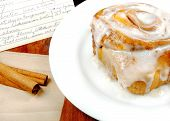 Cinnamon Roll With Recipe