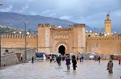 Medieval City Gate In Fes, Morocco