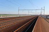 Passanger Bahnhof mit Zug