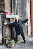 Singer In Naples