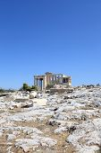 View Of Erechtheum Ancient Greek Temple