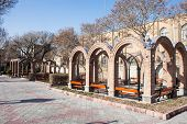 picture of tabriz  - Khaqani park in Tabriz in northern Iran - JPG