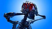 Skeleton Head Pain