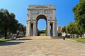 Piazza Della Vittoria - Genova, Italy