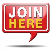 Join us now and register today. Registration icon or membership sign