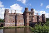 Herstmonceux Castle, Hailsham, East Sussex, England