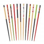 image of chopsticks  - Set of chopsticks - JPG
