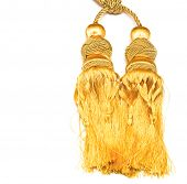 golden knot top tassel