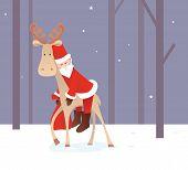 Weary Santa Claus