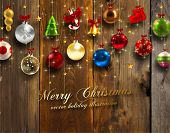pic of christmas bells  - Christmas Card - JPG