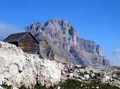 Brenta Dolomites Mountain Views In The Area Of ??alfredo Sentiero Path And Pass Groste