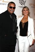 LOS ANGELES - MAR 29:  Billy Dee Williams, Emma Slater at the Humane Society Of The United States 60
