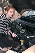 Woman Auto Mechanic