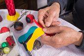 Sewing Pelota Balls