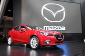 Nonthaburi - March 25: Mazda Mazda3 Car On Display At The 35Th Bangkok International Motor Show On M