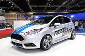 Nonthaburi - March 25: Ford New Fiesta Car On Display At The 35Th Bangkok International Motor Show O