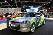 Nonthaburi - March 25: Hyundai Veloster Car On Display At The 35Th Bangkok International Motor Show