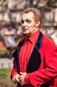 ODESSA, UKRAINE - APRIL 1: participants of a festival Humorina in Odessa on April 1, 2014. Humorina