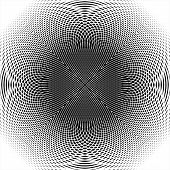 Design Monochrome Thread Interlaced Background