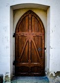 Rustic Chapel Door