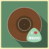 I Love  Music. Vinyl Disc