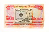 Iraqi Dinars and American Dollar