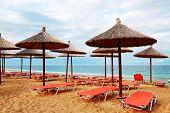 Beach At The Modern Luxury Hotel, Halkidiki, Greece