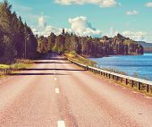 Road in Finland