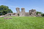 Llawhaden Castle Ruins