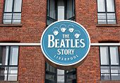 The Beatles Story Exhibition Sign