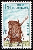 Postage Stamp France 1979 Steenvoorde Windmill