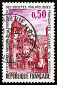 Postage Stamp France 1974 Pfister House, Colmar