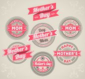 Calligraphic Design Elements mothers day