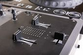 Dj Mixer And Cd Player