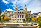 Front of the Grand Casino in Monte Carlo, Monaco.