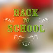 illustration of Back to School background