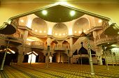 Main Prayer Hall of Royal Town Mosque Klang