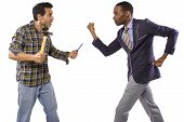 picture of blue-collar-worker  - Blue collar worker vs white collar professional - JPG