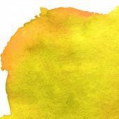 Golden color grunge watercolour
