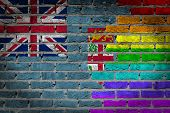Dark Brick Wall - Lgbt Rights - Fiji