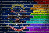 Dark Brick Wall - Lgbt Rights - North Dakota