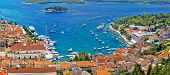 Hvar Bay And Yacht Harbor